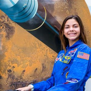 Alyssa Carson podczas International Space University Summer Program