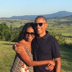 Barack Obama wzruszająco o Michelle Obama