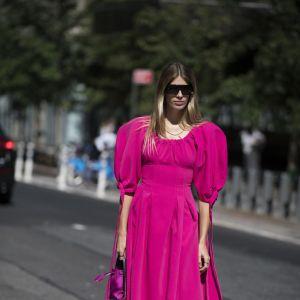Łączenie kolorów ubrań - różowy i żółty