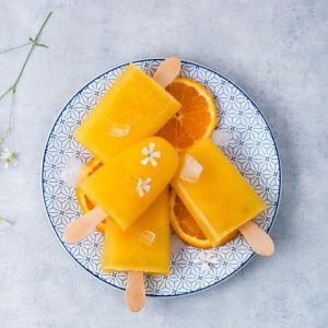 Dwuskładnikowe lody z mango