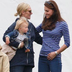 Wnuczka królowej Elżbiety II Zara Tindall z księżną Kate