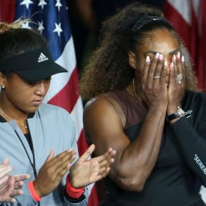 Serena Williams i Naomi Osaka, US Open 2018