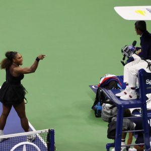 Serena Williams kłóci się z arbitrem Carlosem Ramosem