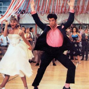 Olivia Newton John i John Travolta - Grease