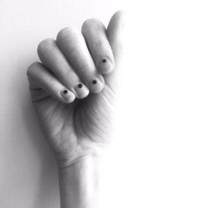 Needle nails - tatuaż paznokci