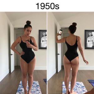 Jak zmieniała się idealna figura na przestrzeni lat?