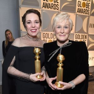Glenn Close Złote Globy 2019