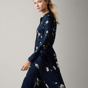 Massimo Dutti, sukienka w kwiatowy deseń, 449 zł