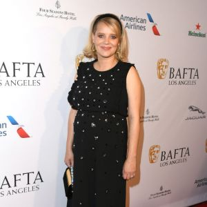 Złote Globy 2019: Joanna Kulig na BAFTA Tea Party