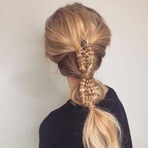 Bąbelkowe warkocze - modna fryzura na wiosnę