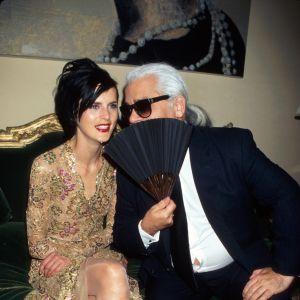 Karl Lagerfeld i Stella Tennant