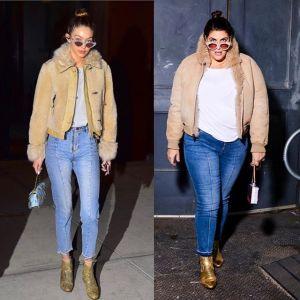 Blogerka Katie Sturino w stylizacji Gigi