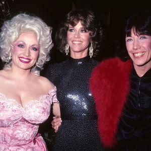 Jane Fonda, Dolly Parton, Lily Tomlin w Nowym Jorku