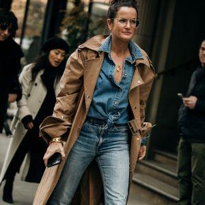 Jeans trendy moda wiosna 2019: moda uliczna wiosna 2019