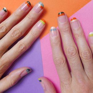 Wzorki na paznokcie manicure na wiosnę