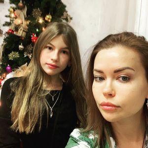 Tatiana Petenkova z córką