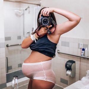 Jayme Billy Pierce z rodziną pokazała brzuch po porodzie