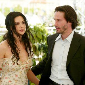 Keanu Reeves i Monica Belluci