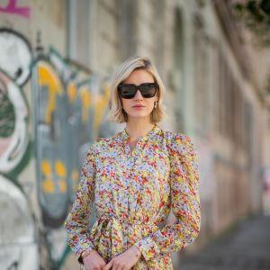 Sukienka w kwiaty: trendy moda lato 2019