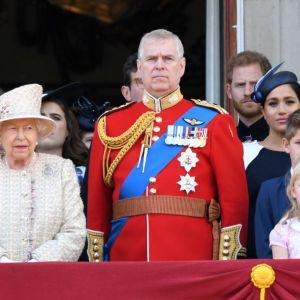 Meghan Markle i książę Harry na obchodach Trooping the Colour