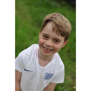 Książę George - zdjęcia z urodzin