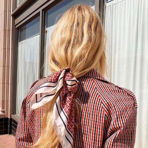 Nie susz i stylizuj gorącem włosów