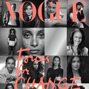 """Księżna Meghan jako redaktor brytyjskiego """"Vogue`a"""": na okładce 15 inspirujących ją kobiet"""