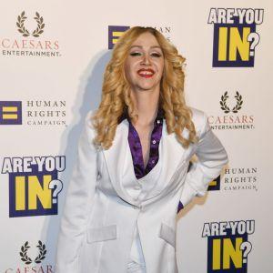 Gwiazdy z diastemą: Madonna