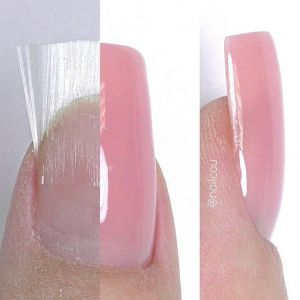 Jedwabne paznokcie Fiberglass
