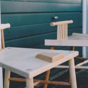 Krzesło przeciw rozkraczaniu