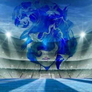 niebieska dziewczyna