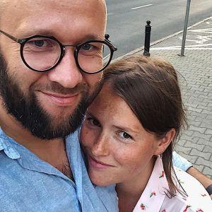 Olga Frycz i Grzegorz Sobiaszek