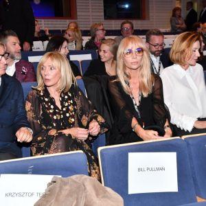 Agnieszka Woźniak Starak na festiwalu filmowym w Gdyni