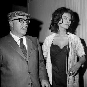 Sophia Loren z mężem Carlo Ponti w 1967 roku