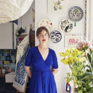 """Ilustratorka i projektantka, Malwina Konopacka: """"Przeraża mnie, że dziś debata publiczna to beton po obu stronach."""" [WYWIAD]"""