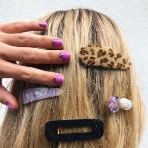 Paznokcie jesień 2019: Fioletowe paznokcie