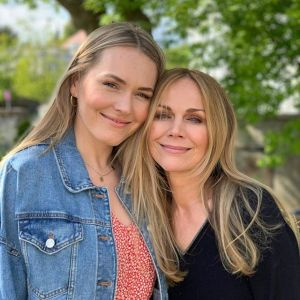 Monika Krzywkowska i Magdalena Lamparska