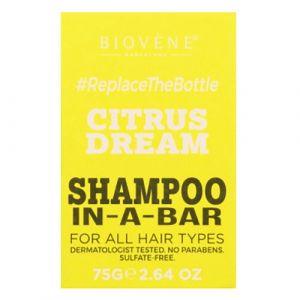 Biovene Barcelona, Citrus Dream Shampoo-in-a-bar