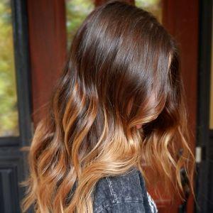 Modne kolory włosów 2019: Miodowe ombre