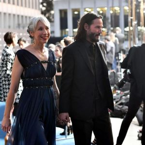 Keanu Reeves i Alexandra Grant