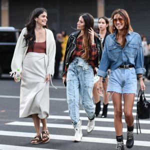 Trendy moda jesień 2019: jeansy slouchy