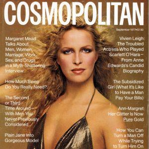 Valentine Monnier na okładce Cosmopolitan z 1977 roku