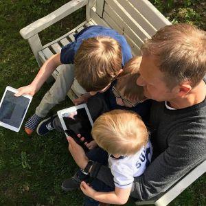 Donald Tusk często dzieli się zdjęciami w mediach społecznościowych