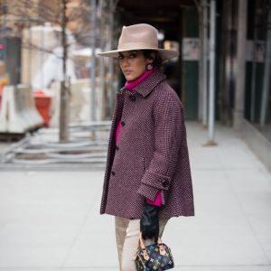 Trendy moda zima 2019: kapelusz fedora