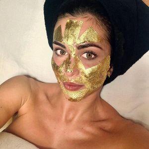 Prezent dla teściowej - zabieg na twarz z 24 karatowym złotem