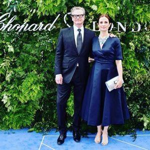 Colin Firth po 22 latach rozstaje się z żoną włoską producentką Livią Giuggioli