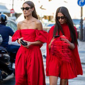 Czerwone sukienki na święta i sylwestra 2019