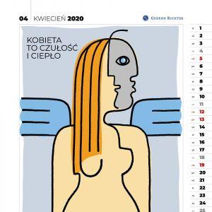 """Kalendarz Artystyczny """"Kobiety w męskich oczach"""""""