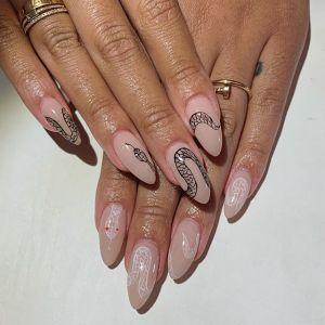 Snake Skin nails