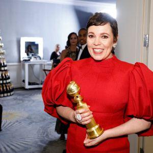 """Najlepsza aktorka w serialu dramatycznym - Olivia Colman """"The Crown"""""""